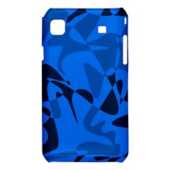 Blue pattern Samsung Galaxy S i9008 Hardshell Case