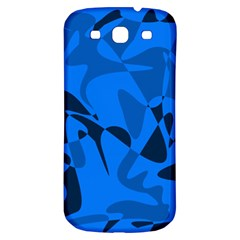 Blue pattern Samsung Galaxy S3 S III Classic Hardshell Back Case