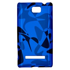Blue pattern HTC 8S Hardshell Case