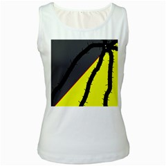 Spider Women s White Tank Top