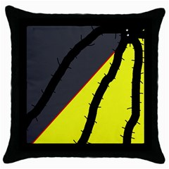 Spider Throw Pillow Case (Black)
