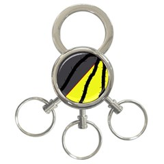 Spider 3-Ring Key Chains