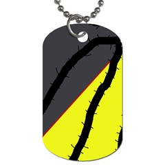 Spider Dog Tag (One Side)
