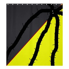 Spider Shower Curtain 66  x 72  (Large)