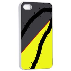 Spider Apple iPhone 4/4s Seamless Case (White)