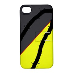 Spider Apple iPhone 4/4S Hardshell Case with Stand