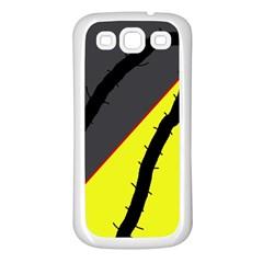 Spider Samsung Galaxy S3 Back Case (White)