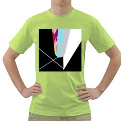 Colorful abstraction Green T-Shirt