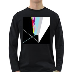 Colorful abstraction Long Sleeve Dark T-Shirts