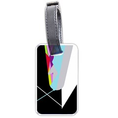 Colorful abstraction Luggage Tags (One Side)