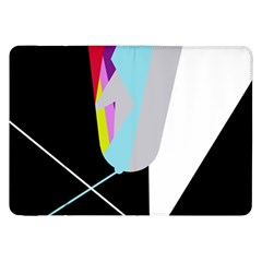 Colorful abstraction Samsung Galaxy Tab 8.9  P7300 Flip Case