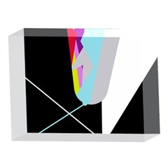 Colorful abstraction 5 x 7  Acrylic Photo Blocks