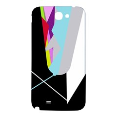 Colorful abstraction Samsung Note 2 N7100 Hardshell Back Case