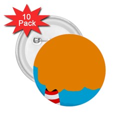 Chimney 2.25  Buttons (10 pack)