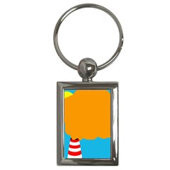 Chimney Key Chains (Rectangle)
