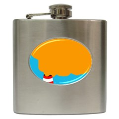 Chimney Hip Flask (6 oz)