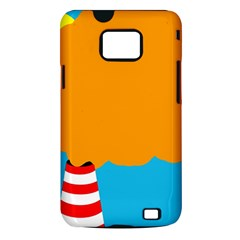 Chimney Samsung Galaxy S II i9100 Hardshell Case (PC+Silicone)