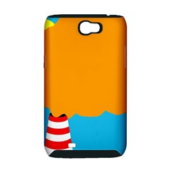 Chimney Samsung Galaxy Note 2 Hardshell Case (PC+Silicone)