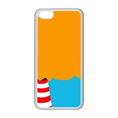 Chimney Apple iPhone 5C Seamless Case (White)