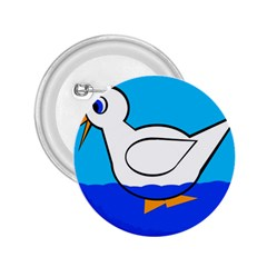 White duck 2.25  Buttons