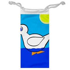 White duck Jewelry Bags