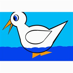 White duck Collage Prints