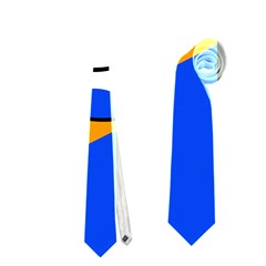 White duck Neckties (Two Side)