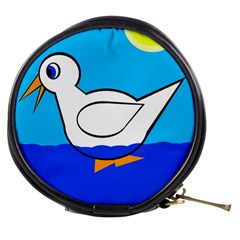 White duck Mini Makeup Bags