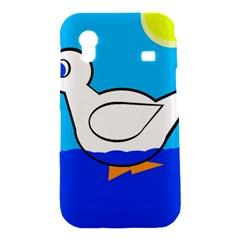 White duck Samsung Galaxy Ace S5830 Hardshell Case