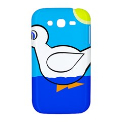 White duck Samsung Galaxy Grand DUOS I9082 Hardshell Case
