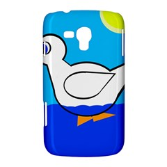 White duck Samsung Galaxy Duos I8262 Hardshell Case