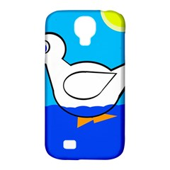 White duck Samsung Galaxy S4 Classic Hardshell Case (PC+Silicone)