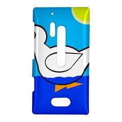 White duck Nokia Lumia 928