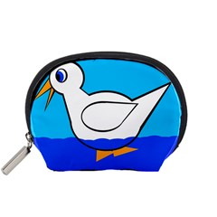 White duck Accessory Pouches (Small)