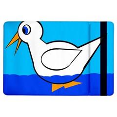 White duck iPad Air Flip