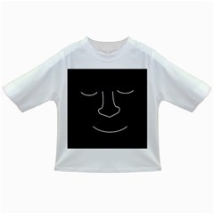 Sleeping face Infant/Toddler T-Shirts