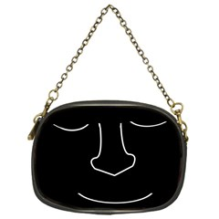 Sleeping face Chain Purses (One Side)