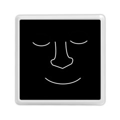 Sleeping face Memory Card Reader (Square)
