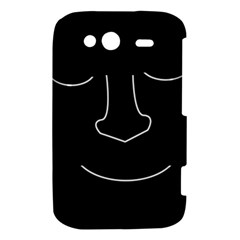 Sleeping face HTC Wildfire S A510e Hardshell Case