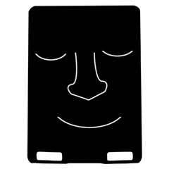 Sleeping face Kindle Touch 3G