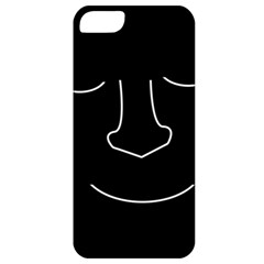 Sleeping face Apple iPhone 5 Classic Hardshell Case