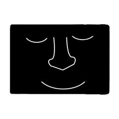 Sleeping face Apple iPad Mini Flip Case