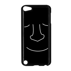 Sleeping face Apple iPod Touch 5 Case (Black)