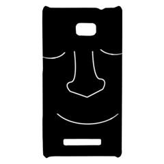 Sleeping face HTC 8X