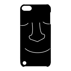 Sleeping face Apple iPod Touch 5 Hardshell Case with Stand