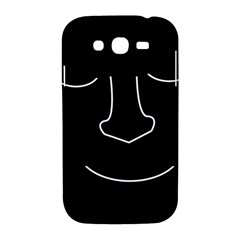 Sleeping face Samsung Galaxy Grand DUOS I9082 Hardshell Case