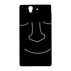 Sleeping face Sony Xperia Z