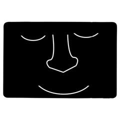 Sleeping face iPad Air Flip
