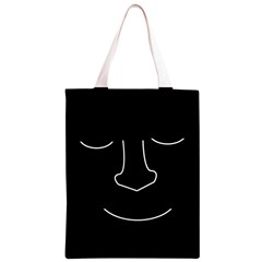 Sleeping face Classic Light Tote Bag