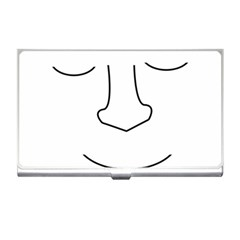 Sleeping face Business Card Holders